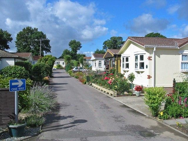 A Mobile Home Park In The UK Copyright Clive Perrin And Licensed For Reuse