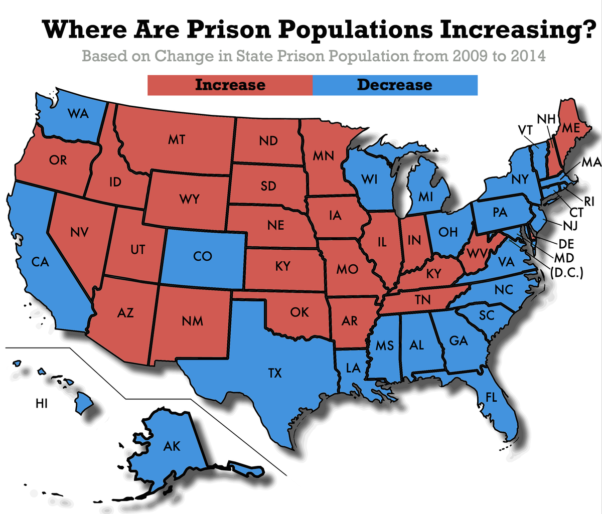 Is Mass Incarceration in America Actually on the Decline?