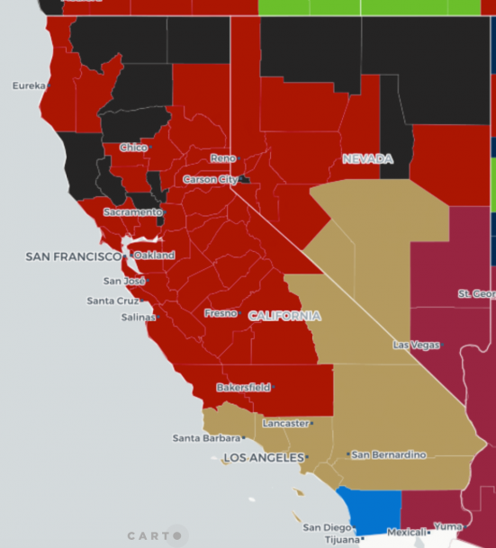 Where Do NFL Fans Live? Mapping Football Fandom Across the U S