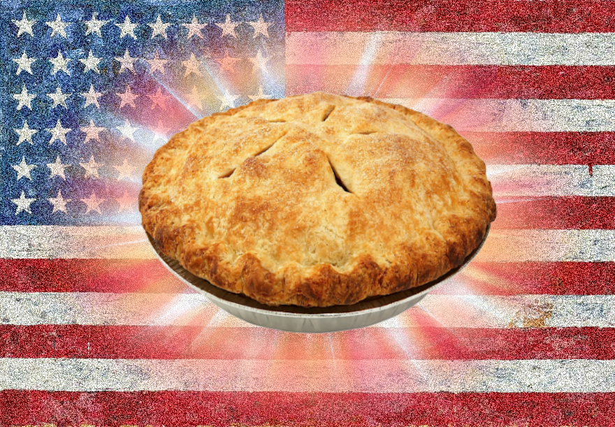 as american as apple pie essay American trust in their government is low, but that's nothing new the roots of government distrust run deep: after all, the us government was formed in revolt it is tempting to think of glenn beck's populist anti-government monologues as a unique expression of this particular moment in america.