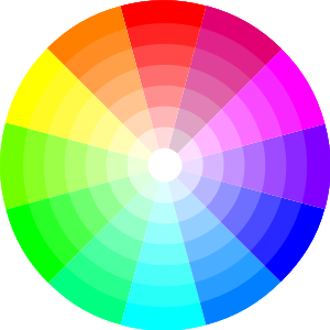Most skin tones fall somewhere between pale peach and dark, dark brown,  leaving them squarely in the orange segment of any color wheel.