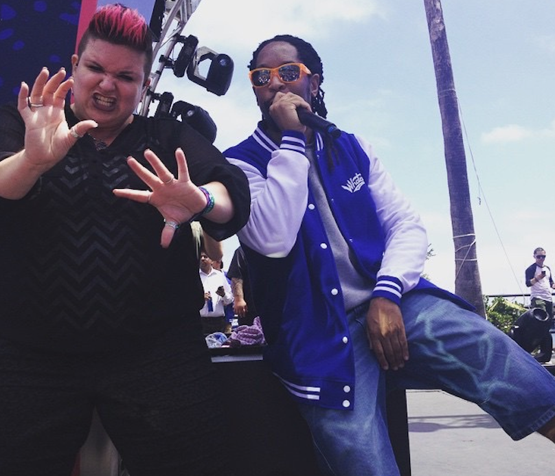 The Sign Language Interpreter Of The Rappers