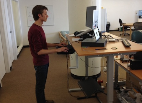 Image Credit Priceonomics Intern Forrest Trying Out Cole S Setup